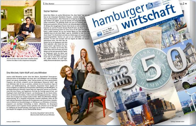 Pausenkicker macht müde Mitarbeiter munter in der Hamburger Wirtschaft