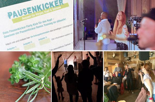 Pausenkicker Events für Firmenveranstaltungen