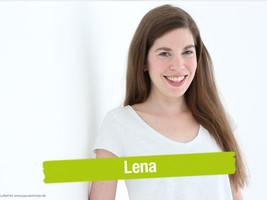 Lena Gedächtnistrainerin für Pausenkicker