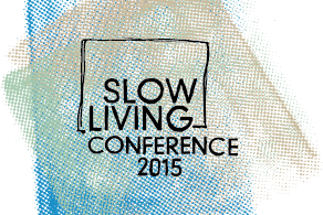 Pausenkicker auf der Slow Living Conference in Berlin am 17.9.2015