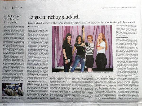Pausenkicker in der Berliner Morgenpost