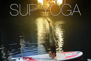 SUP Yoga Pausenkicker und Elbgänger